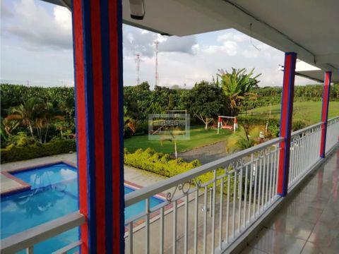 se vende finca hotel quimbaya vda trocaderos