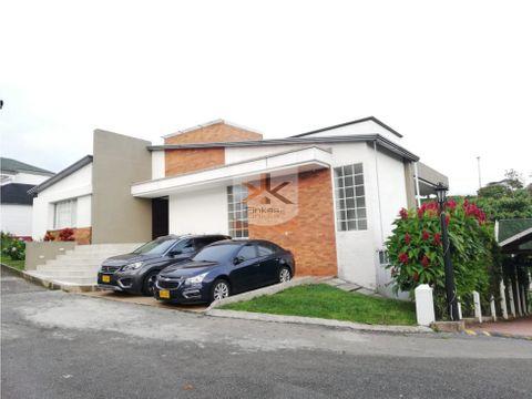 se vende casa en condominio campestre armenia