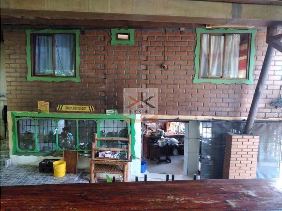 se vende casa comercial rio verde quindio