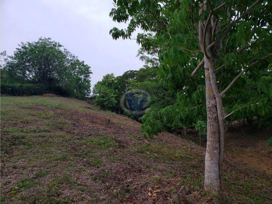 venta lote en villas del palmar turbaco