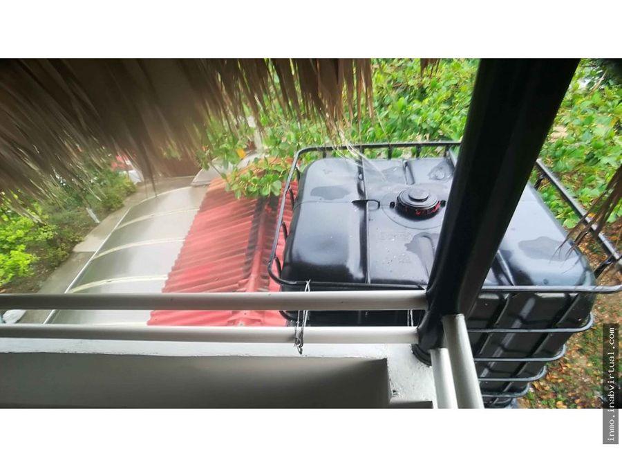 cabana de 3 pisos con kiosco en la via turbaco