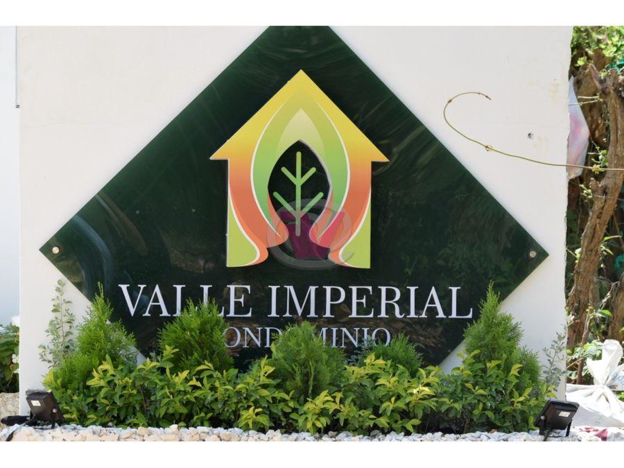 lotes en valle imperial plan parejo turbaco