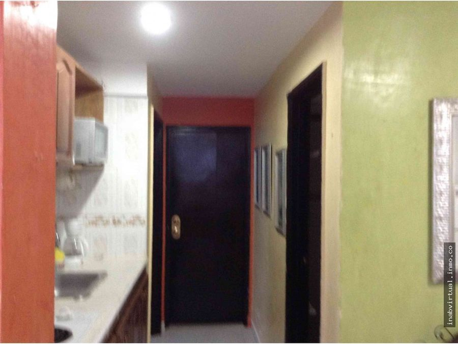 apartamento amoblado 2 hab 10 per 340mil 1922con