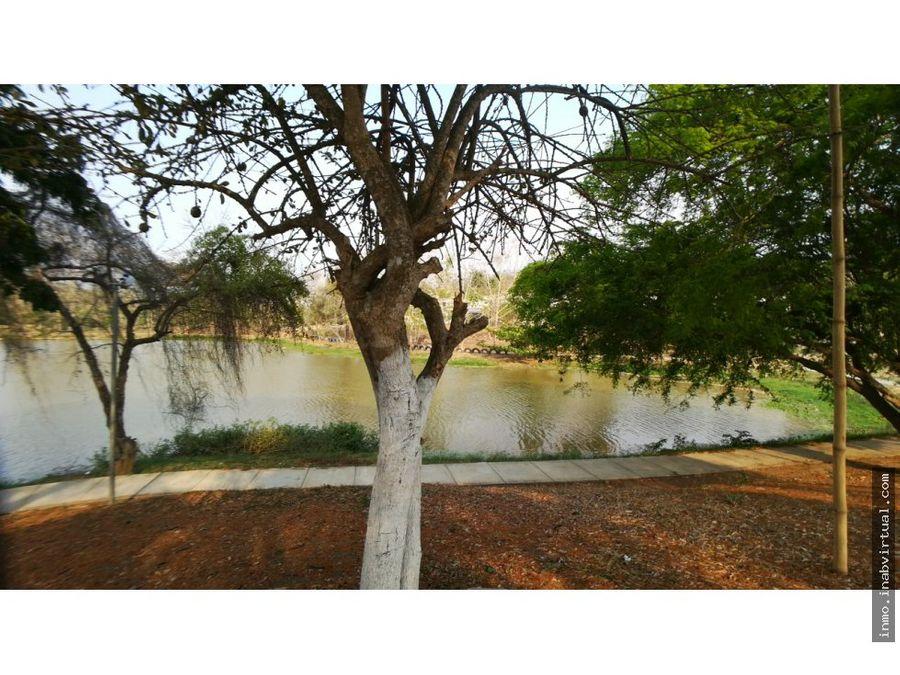 arrendamos casa en bonanza frente al lago