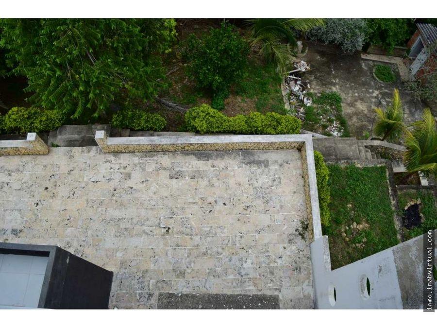 casa campestre en turbaco con vista a la bahia