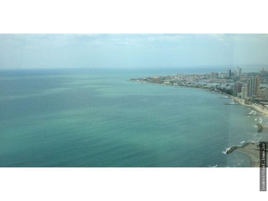 aptos amoblados frente al mar palmetto cartagena