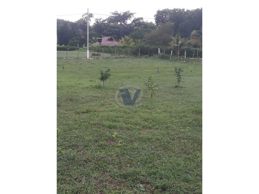 venta lote campestre en campo verde turbaco