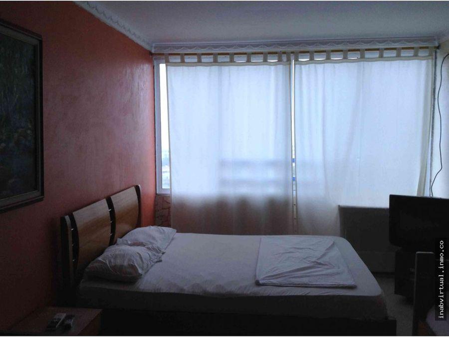apartamento amoblado 2 hab 10 per 320mil 1105con