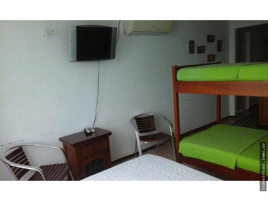apartamento cartagena 1 hab 4 per 160mil 1821 eco