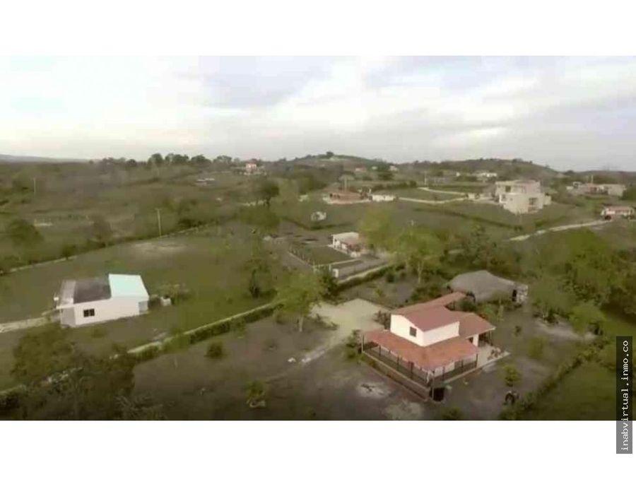lotes campestres desde 120m en villas del palmar