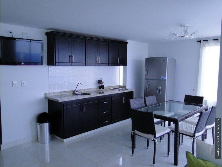 apartamento amoblado 3 hab 8 per 350mil 1612con