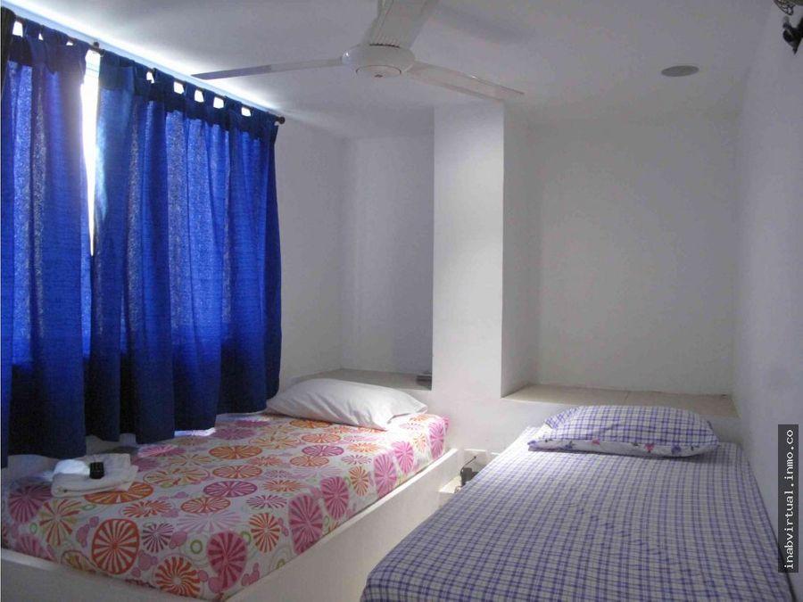 2 habitaciones 4 personas por dia en cartagena