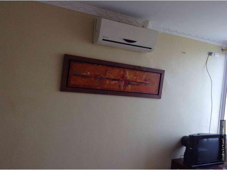 apartamento amoblado 1 hab 6 per 190mil 1105h