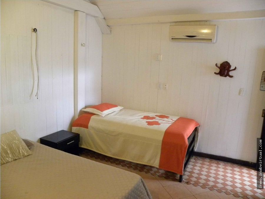 hermosa cabana en manzanillo del mar cartagena