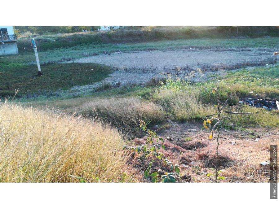vendo lote esquinero en villas del palmar turbaco