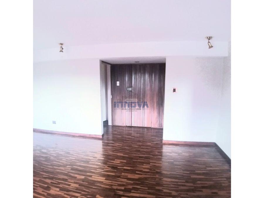apartamento en venta urb los dos caminos