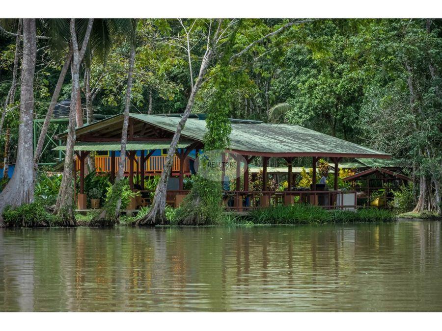 venta hotel lirio lodge en canales de tortuguero