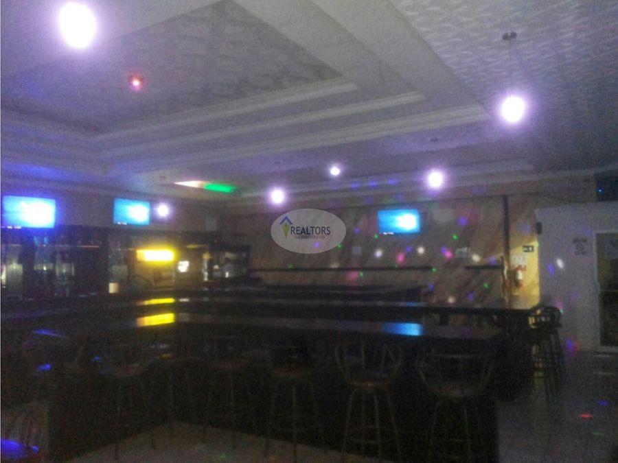 venta de bar restaurante en naranjo