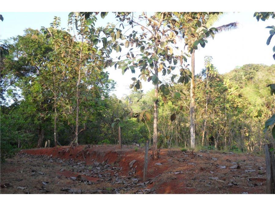 venta de terreno en hojancha guanacaste