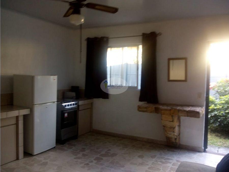alquiler de apartamento amueblado en rio oro