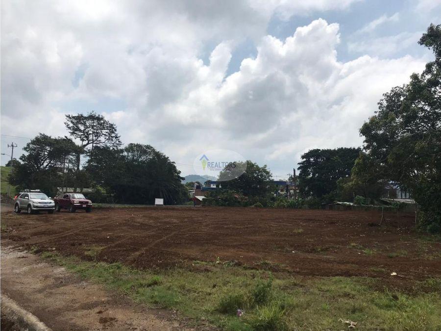 venta de terreno en san ramon