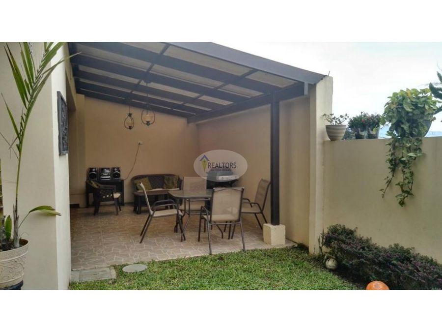 venta de casa en la trinidad de moravia