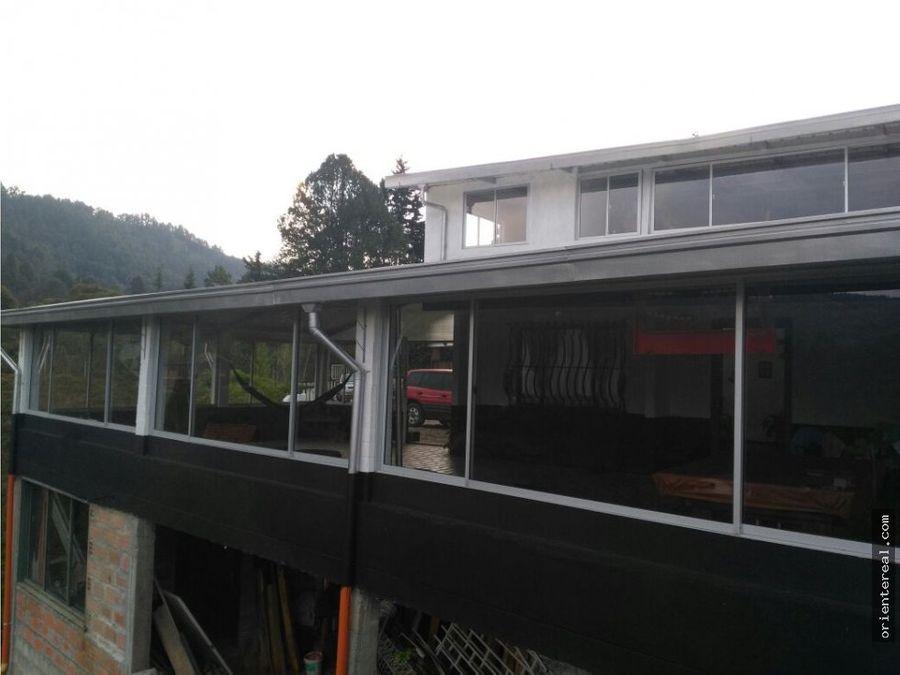 casa campestre en alquiler guarne