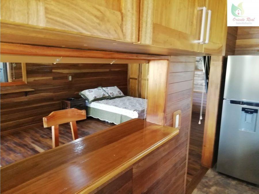 cabana en alquiler guarne