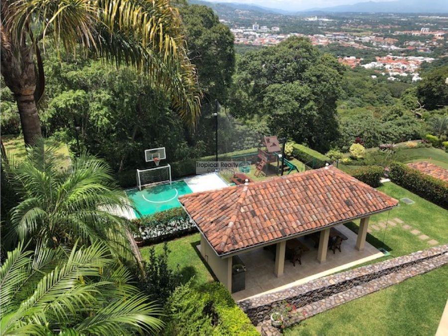 escazu cerro real casa de lujo en alquiler