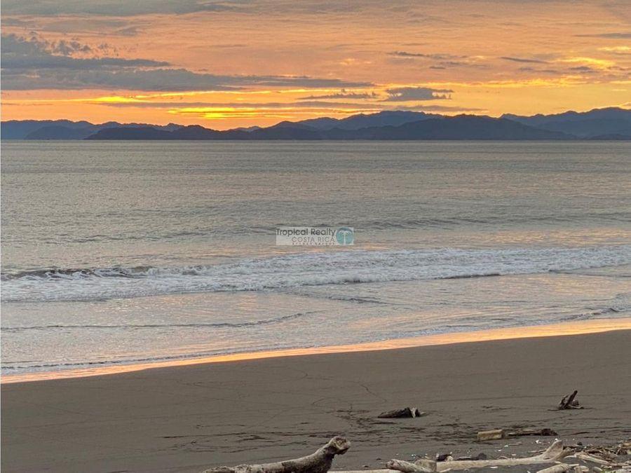 casa independiente nueva para venta frente al mar en playa tivives