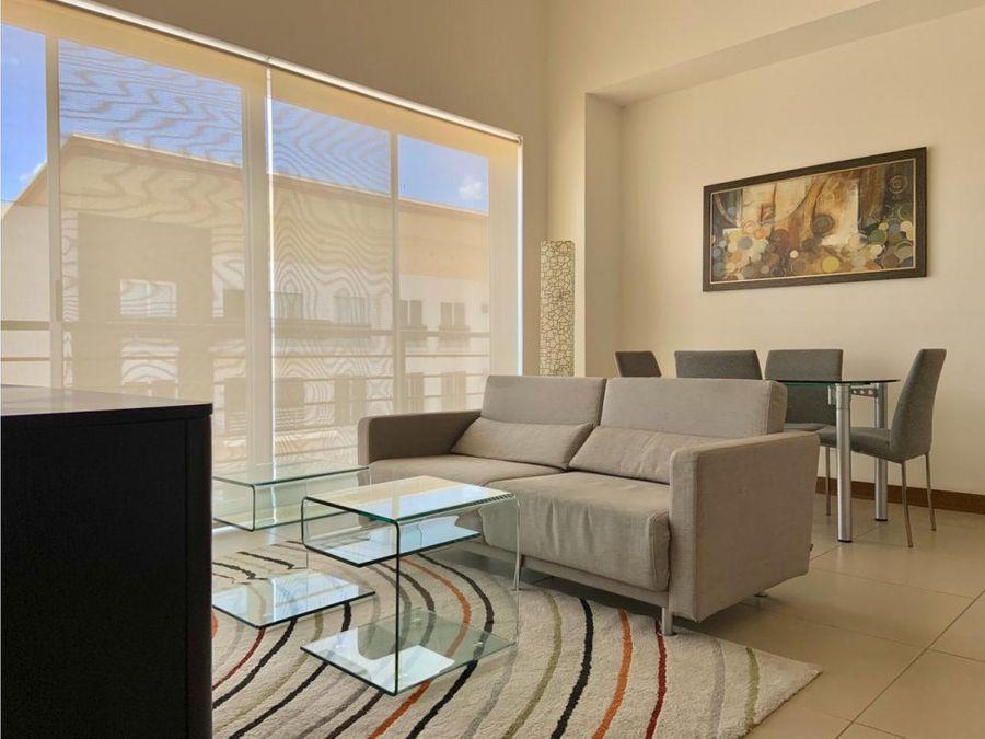 apartamento amueblado para alquiler en distrito 4