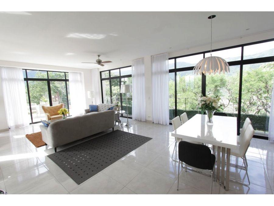 complejo de 4 apartamentos en venta santa ana