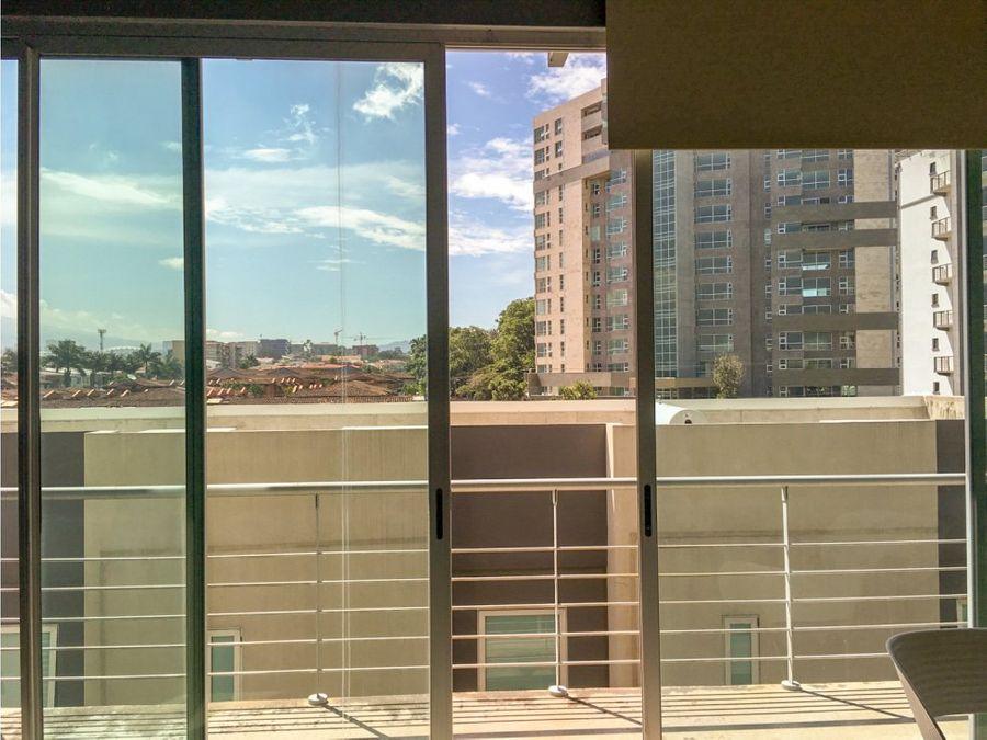 apartamento amueblado en avenida escazu