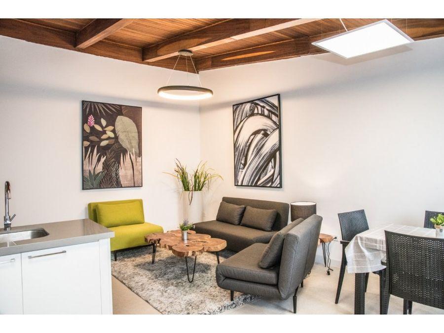 alquiler de apartamento en residencial en escazu