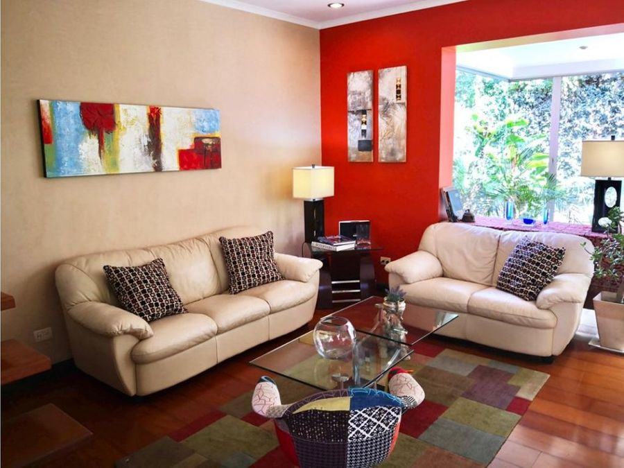 casa para venta y alquiler en condominio en guachipelin de escazu