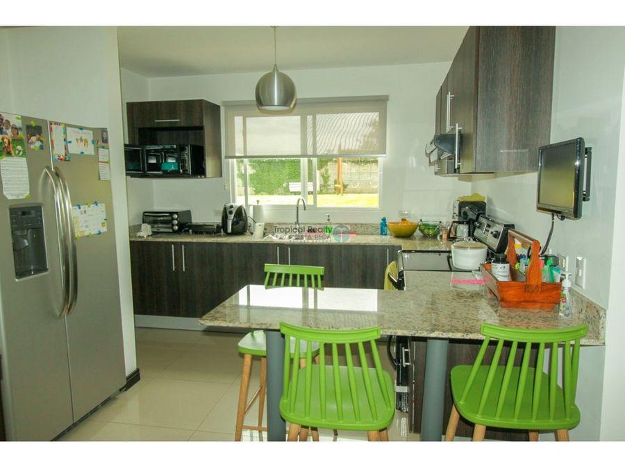 casa en venta escazu en condominio san telmo