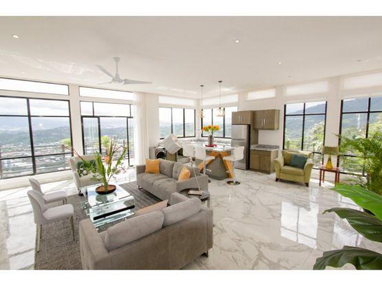 apartamento de lujo alquiler santa ana penthouse