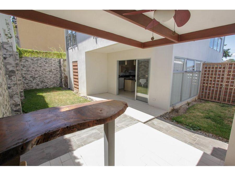 casa en venta santa ana moderna