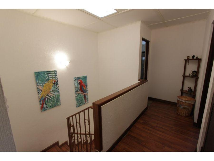 casa para venta y alquiler amueblada en condominio ubicado en escazu