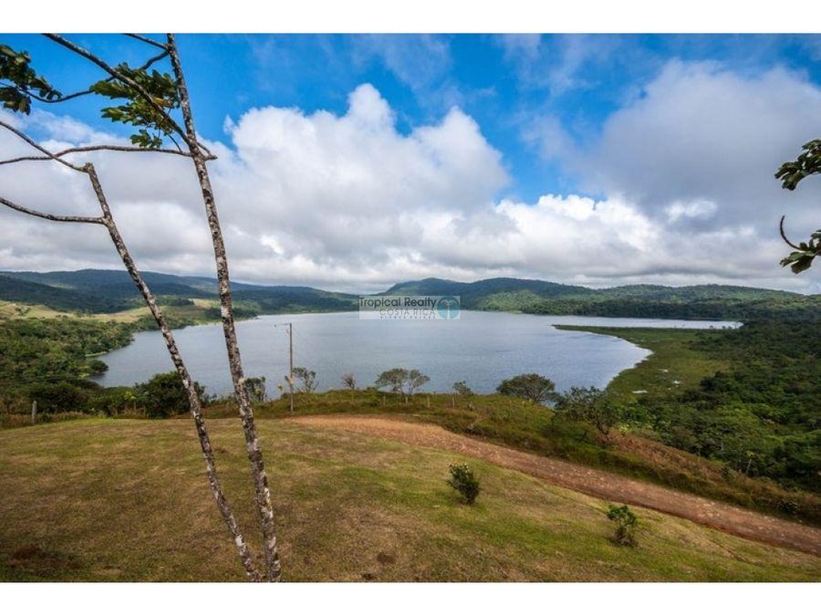 finca de 168 hectareas tilaran con vistas al lago arenal y lago cote