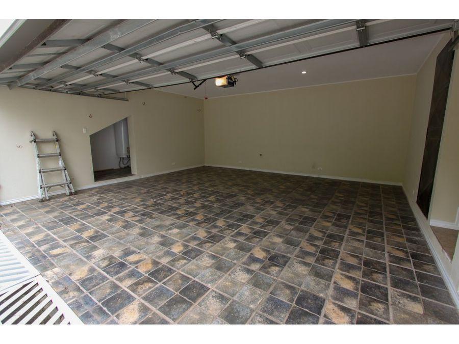 venta de casa en residencial escazu