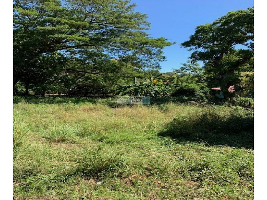 lote en venta playas del coco para desarrollar