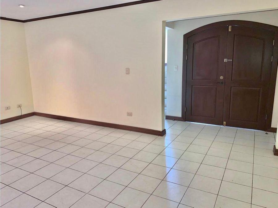 casa en venta en condominio ubicado en san antonio de escazu