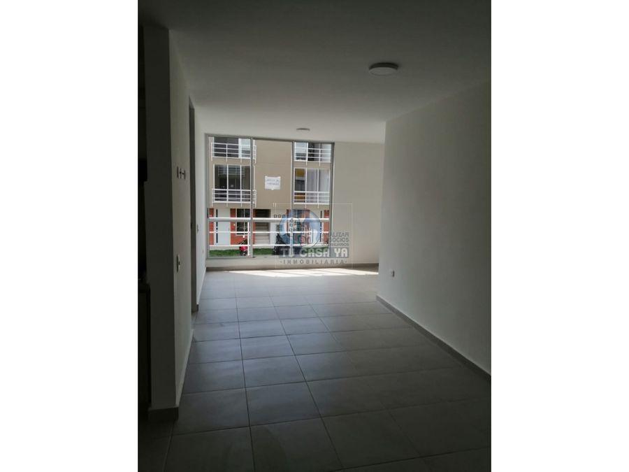 rento apartamento nuevo en zaguan de villavento