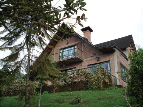 vendo casa campestre en condominio via armenia