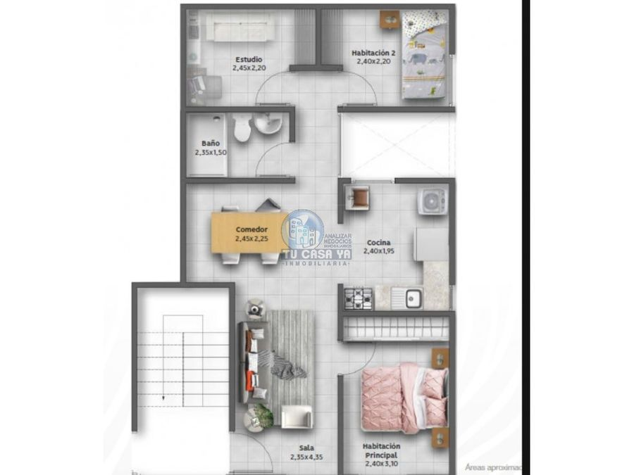 vendo apartamento esquinero