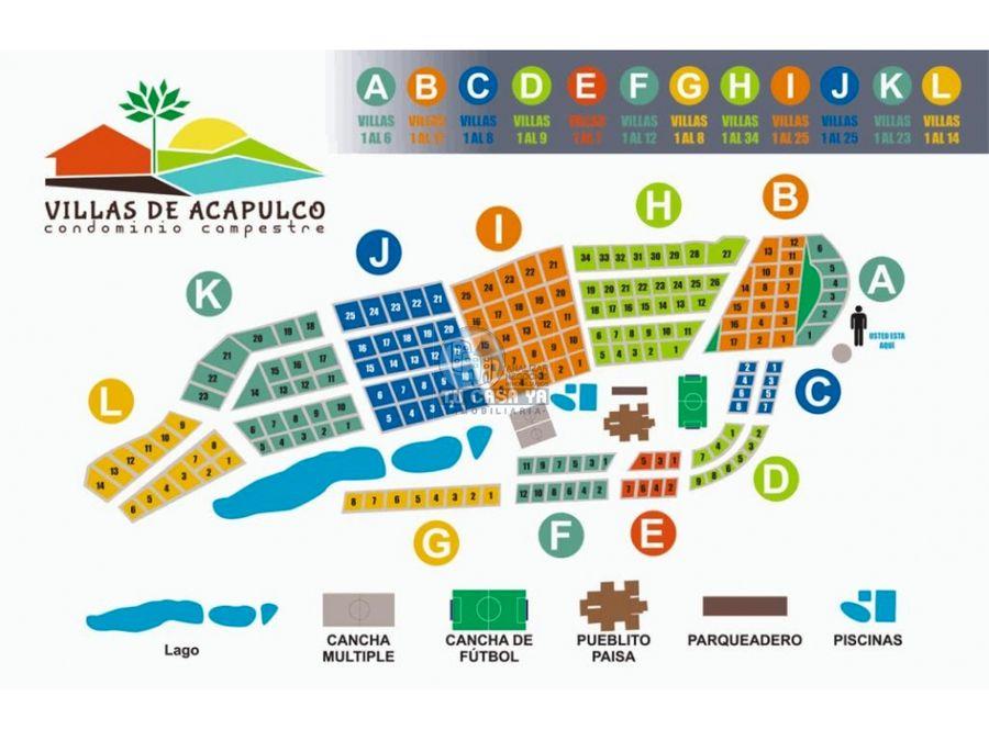 vendo lote en condominio villas de acapulco