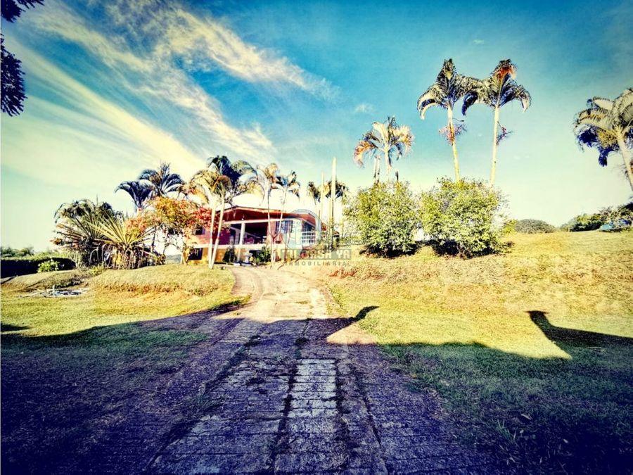 vendo casa campestre en combia vereda la honda