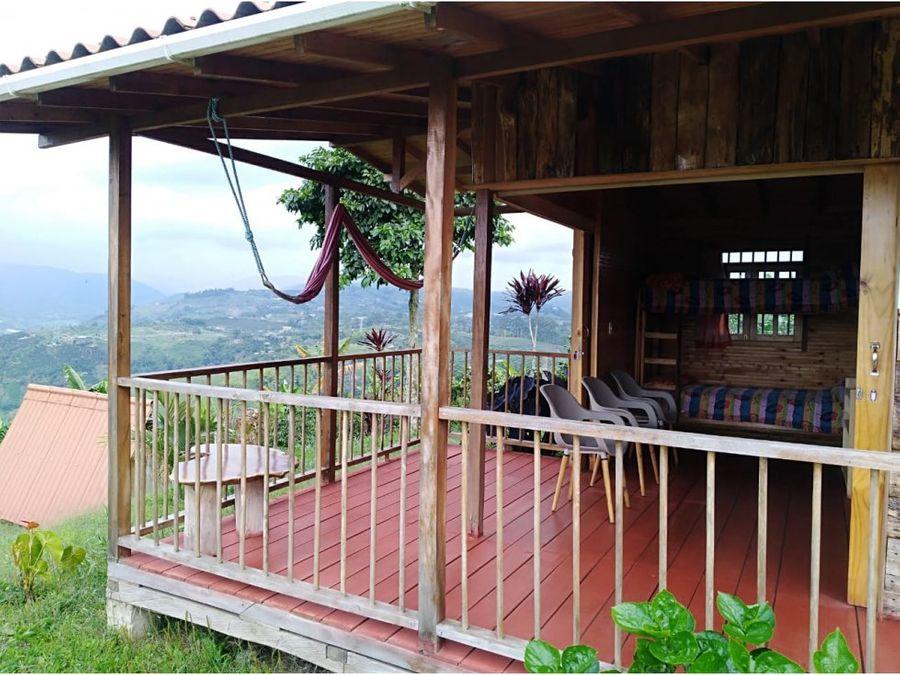 casa campestre hermoso paisaje cultural cafetero