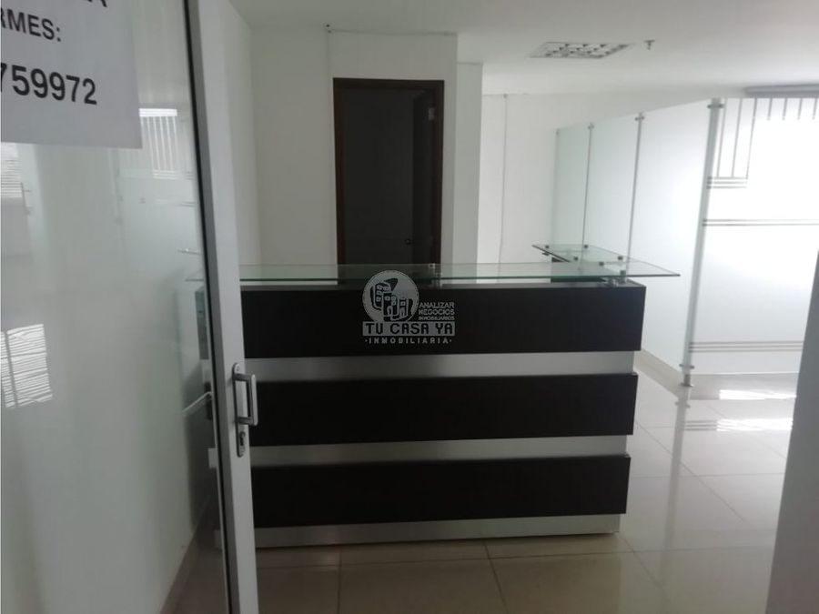 alquilo oficina en cc guadalupe plaza